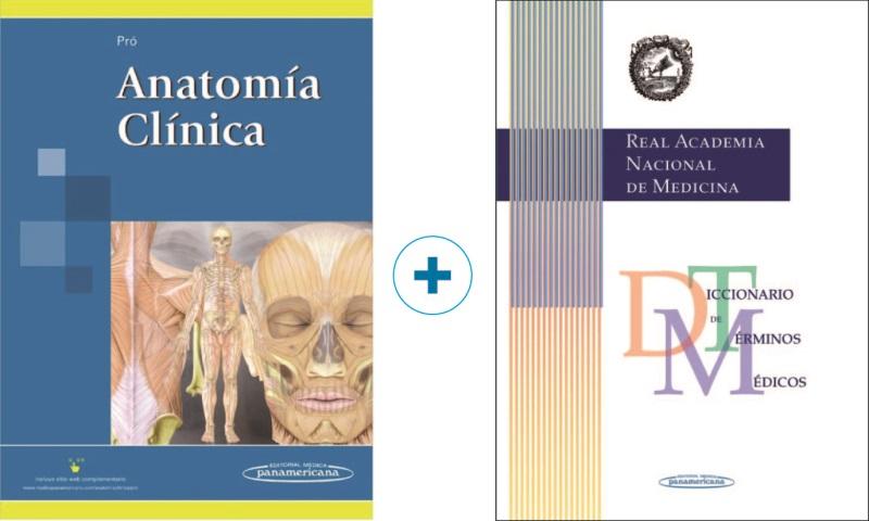Pró. Anatomía Clínica + Diccionario de Términos Médicos