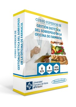 Curso Superior de Gestión Dietética del Sobrepeso en la Oficina de Farmacia