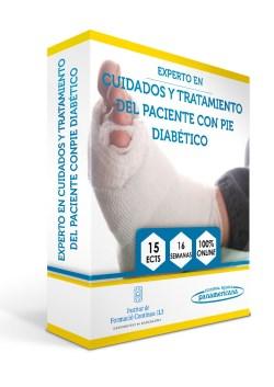 Experto en cuidados y tratamiento del paciente con pie diabético