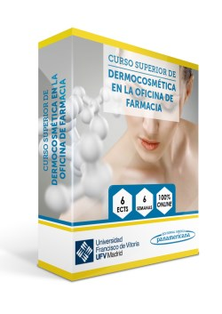 Curso Superior de Dermocosmética en la Oficina de Farmacia