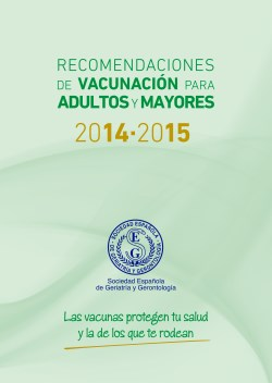 Recomendaciones de vacunación para adultos y mayores 2014-2015