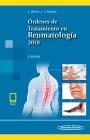Órdenes de Tratamiento en Reumatología 2018 (incluye versión digital)