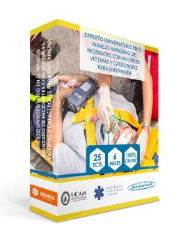 Experto Universitario en el  Manejo Avanzado de Incidentes con Múltiples Víctimas y Catástrofes para Enfermeria de la SEMES