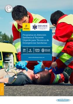 Experto Universitario en Atención Sanitaria al Paciente Urgente para Técnicos de Emergencias Sanitarias de la SEMES