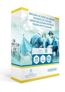 Diploma de Especialización en Bases de Cirugía Hepatobiliopancreática y Trasplantes
