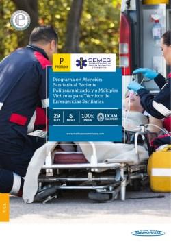 Experto Universitario en Atención Sanitaria al Paciente Politraumatizado y a Múltiples Víctimas para Técnicos en Emergencias Sanitarias