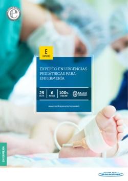 Experto Universitario en Urgencias Pediátricas para Enfermería