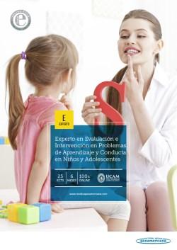 Experto Universitario en Evaluación e Intervención en Problemas de Aprendizaje y Conducta en Niños y Adolescentes